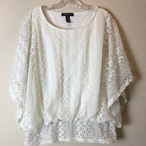 STYLE & CO. Top Poncho